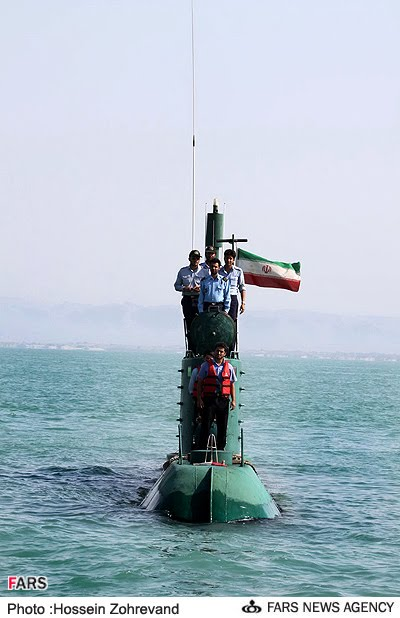 Someone asked to see an Iranian Submarine in their Baby ...